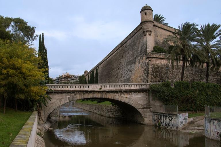 ES_171130 Espanja_0068 Palma de Mallorcan Bastio de Sant Pere