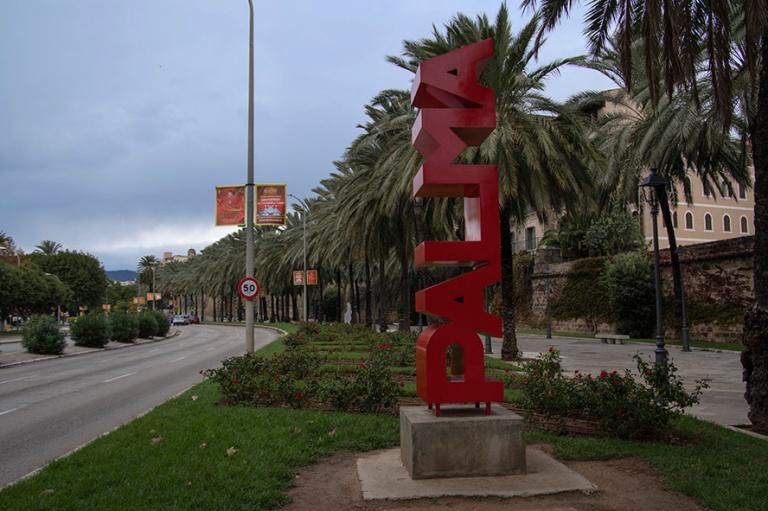 ES_171130 Espanja_0080 Palman nimi Palma de Mallorcan Avinguda d