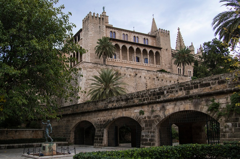 ES_171130 Espanja_0113 Palma de Mallorcan Palacio Real de La Alm