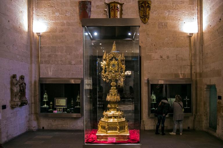 ES_171130 Espanja_0149 Palma de Mallorcan katedraalin museo