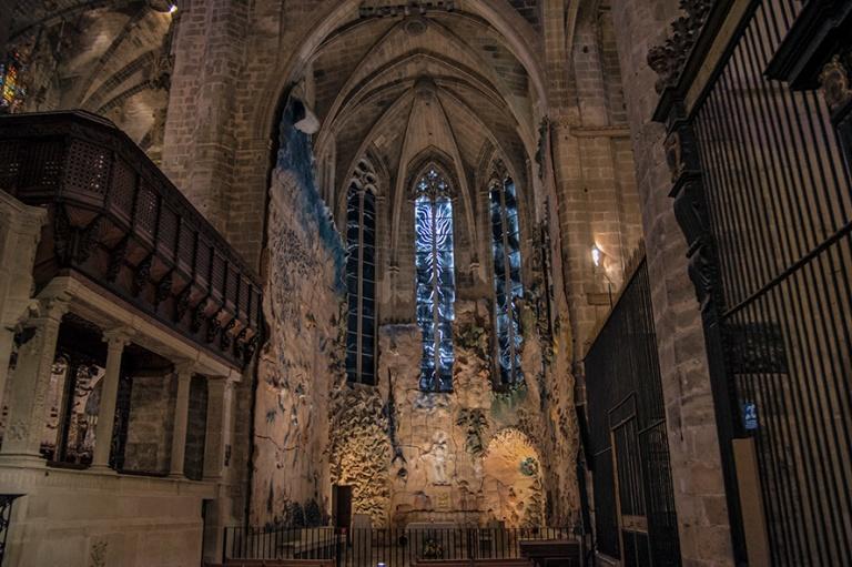 ES_171130 Espanja_0197 Palma de Mallorcan katedraalin Pyhän sak