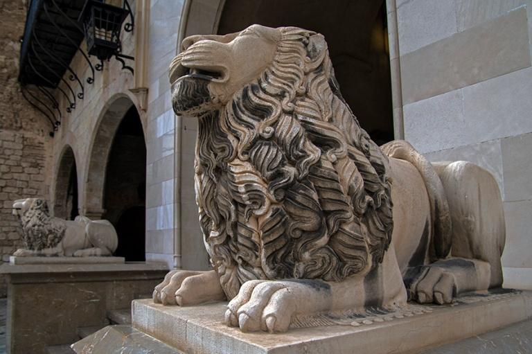ES_171130 Espanja_0246 Palma de Mallorcan Palacio Real de La Alm