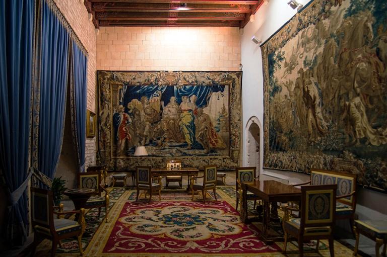 ES_171130 Espanja_0261 Palma de Mallorcan Palacio Real de La Alm