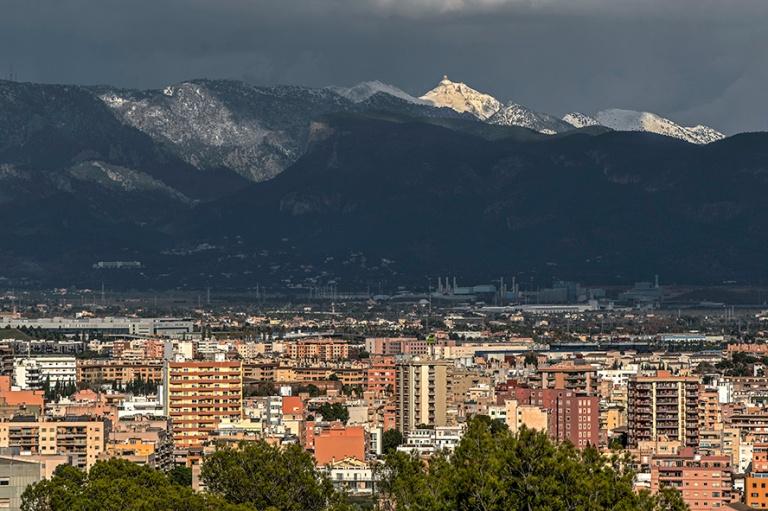 ES_171202 Espanja_0122 Näkymää vuoristoon Palma de Mallorcan
