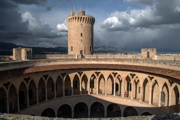 ES_171202 Espanja_0226 Palma de Mallorcan Bellverin linna