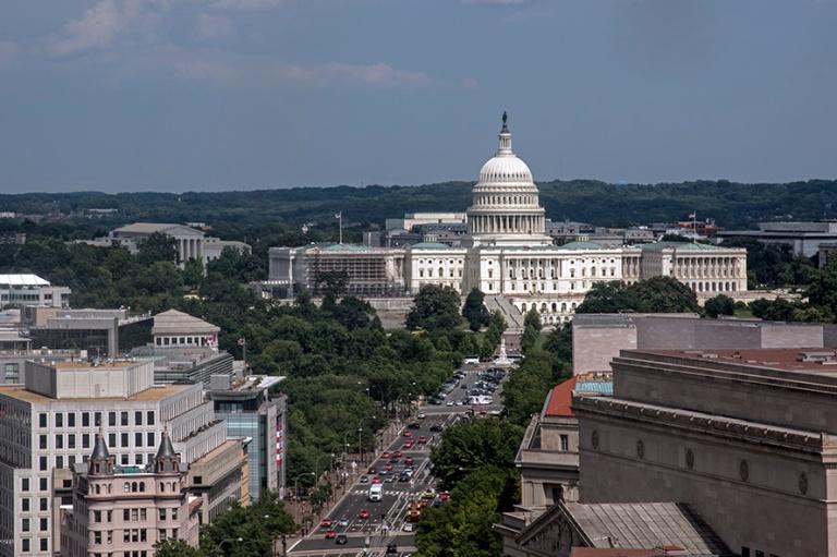 US_170620 Yhdysvallat_0207 Washingtonin Capitol Vanhan postitalo