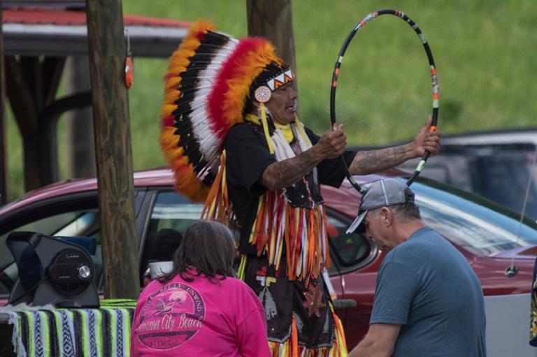 US_170624 Yhdysvallat_0138 Cherokee-intiaaniesitys Cherokeessa P