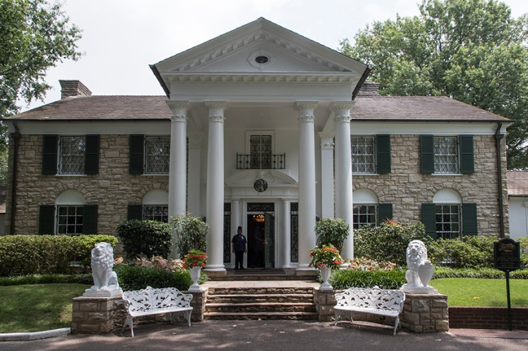 US_170630 Yhdysvallat_0128 Elvis Presleyn Graceland Memphisissä