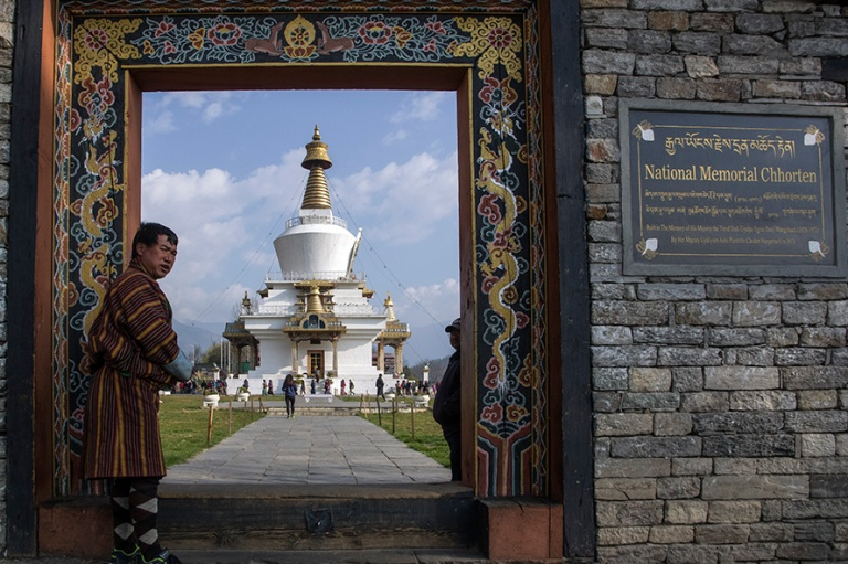 BT_180317 Bhutan_0033 Thimphun National Memorial Chorten
