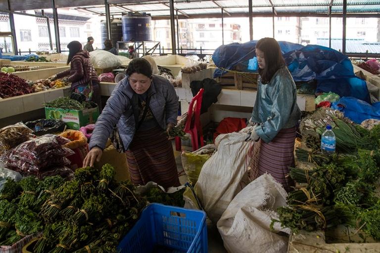 BT_180317 Bhutan_0052 Thimphun Sunday Market