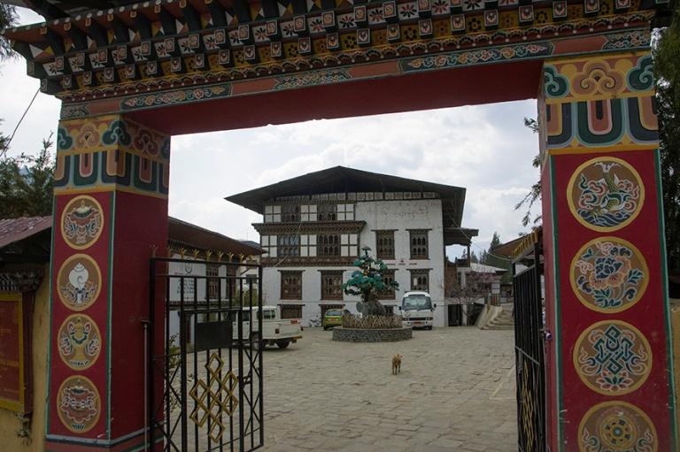 BT_180317 Bhutan_0114 Thimphun National Institute for Zorig Chus