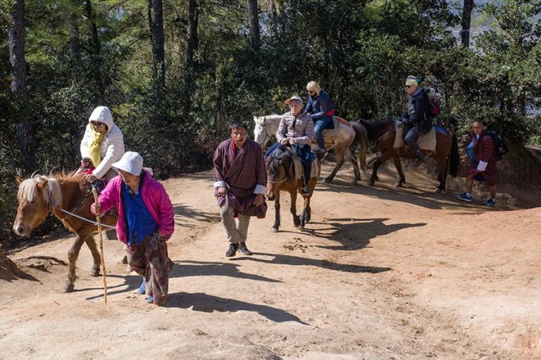 BT_180318 Bhutan_0084 Muulikyytiä Tiikerin pesälle