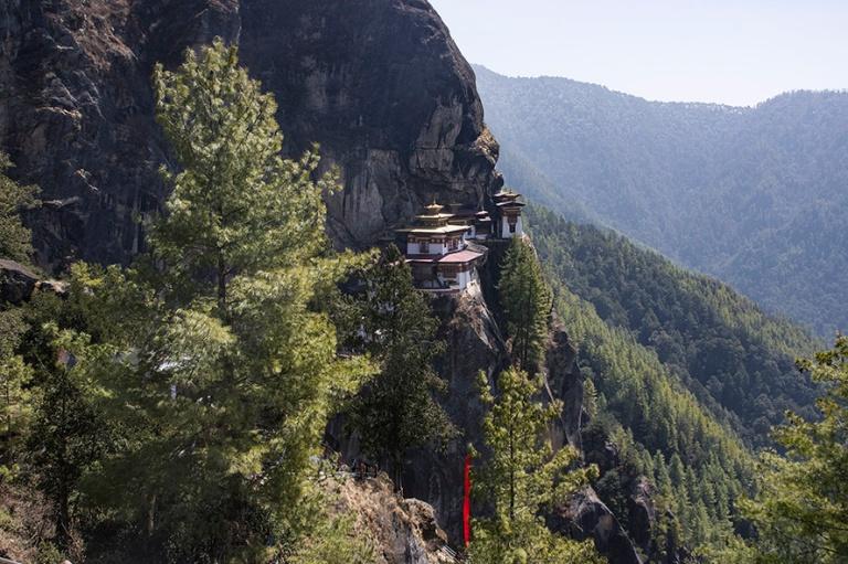 BT_180318 Bhutan_0140 Tiikerin pesä (Paro Taktsang) Paron laaks