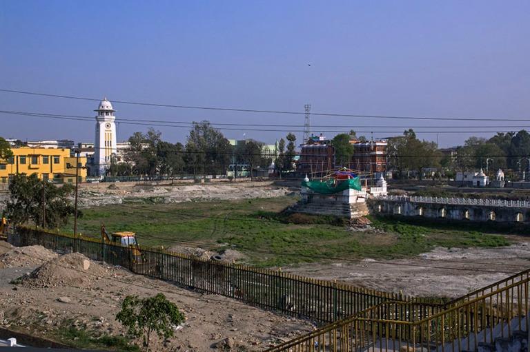 NP_180314 Nepal_0075 Kathmandun Rani Pokhari maanjäristyksen j