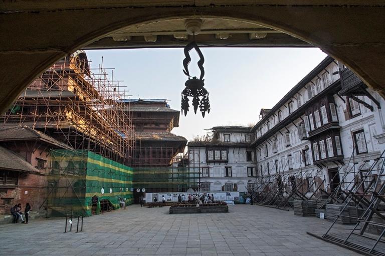 NP_180314 Nepal_0204 Kathmandun Hanuman Dhoka Durbar Squarella