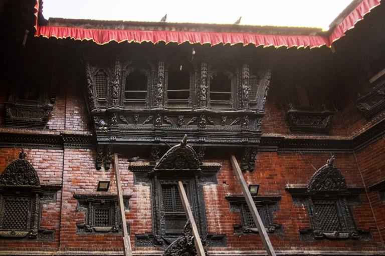 NP_180314 Nepal_0294 Kumari Bahal Kathmandun Durbar Squarella