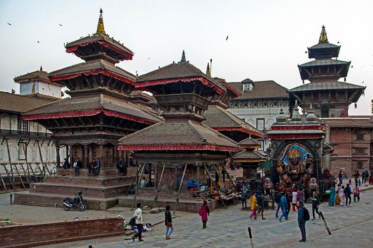 NP_180314 Nepal_0364 Kathmandun Durbar Square