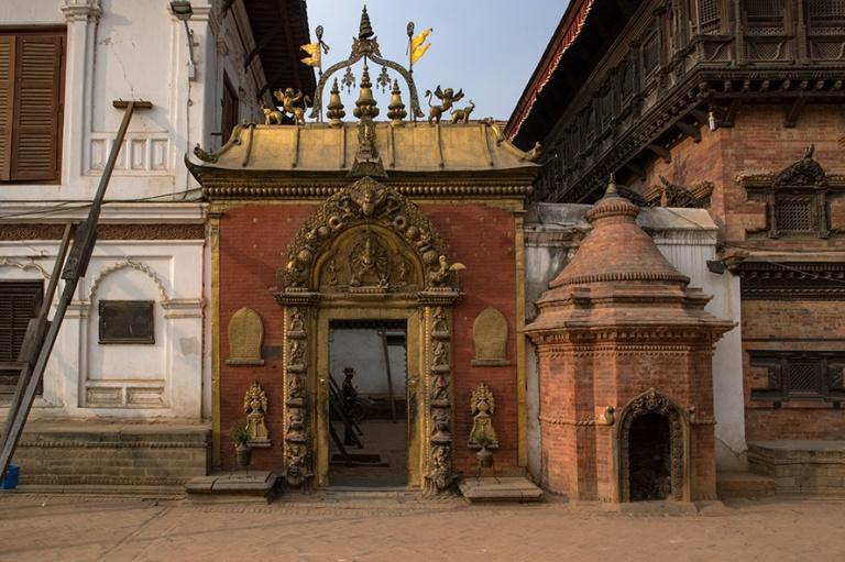 NP_180315 Nepal_0769 Bhaktapurin Durbar Squaren Golden Gate