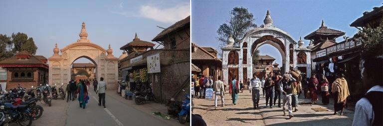NP_180315 Nepal_0829 Bhaktapurin Durbar Squaren Lion Gate