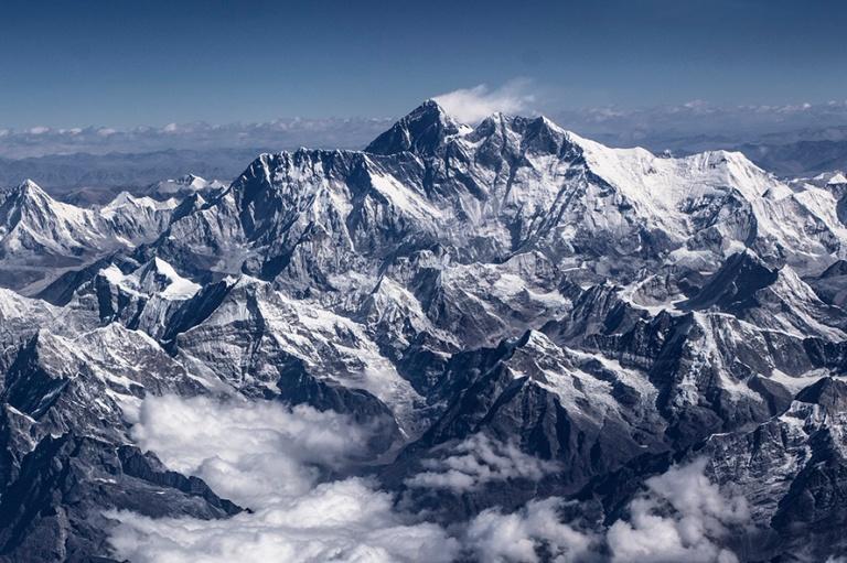 NP_180316 Nepal_0087 Mount Everest ja Himalajaa ilmasta