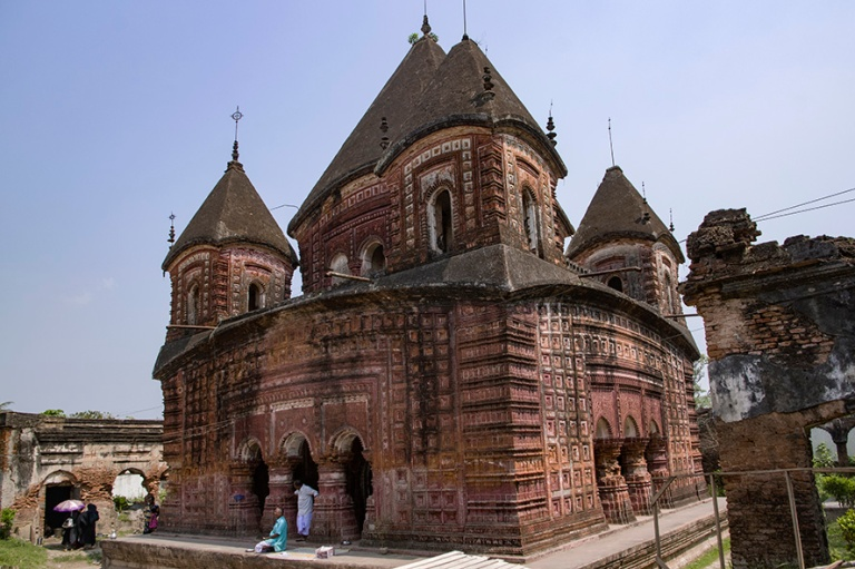 BD_180321 Bangladesh_0293 Puthian Govinda Temple Rajshahin aluee