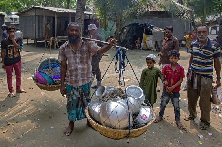 BD_180324 Bangladesh_0351 Romanikylä Padmajoen rannalla Dhakan