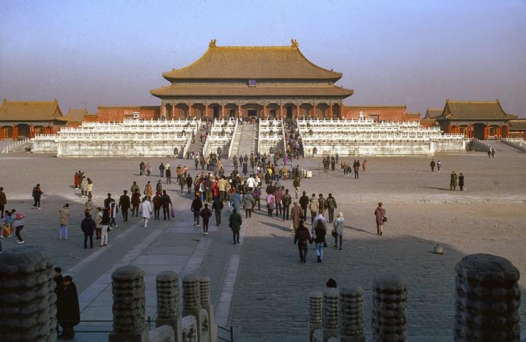 CN124107 Kiina Pekingin kielletyn kaupungin Ylimmän harmonian h