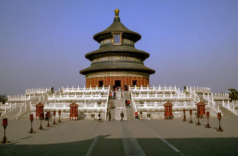 CN124530 Kiina Pekingin Taivaan temppelin Hyvän sadon puolesta
