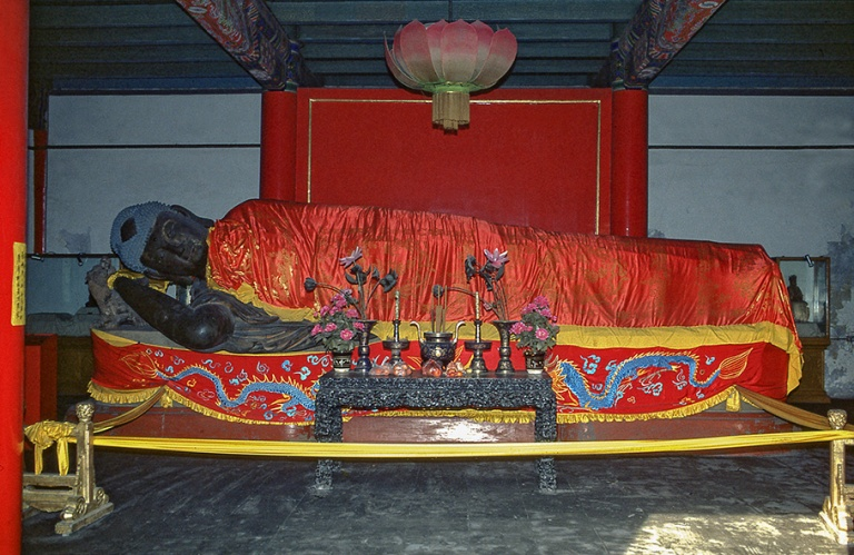 CN125531 Kiina Pekingin Fayuansi-buddhalaistemppelin Makaava bud