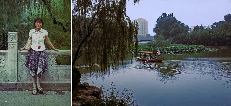 CN490236 Kiina Kiinatar Pekingin Bambupuistossa 2002