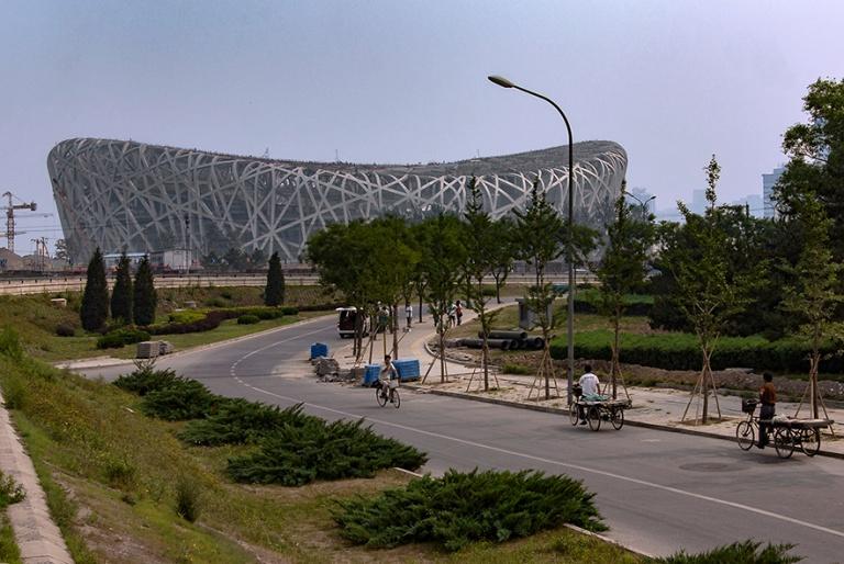 CN_070616 016 Kiina Pekingin olympialaisten linnunpesä