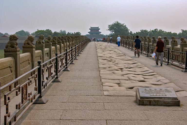 CN_070616 070 Kiina Marco Polon silta Lugou Qiao Wanpingissa