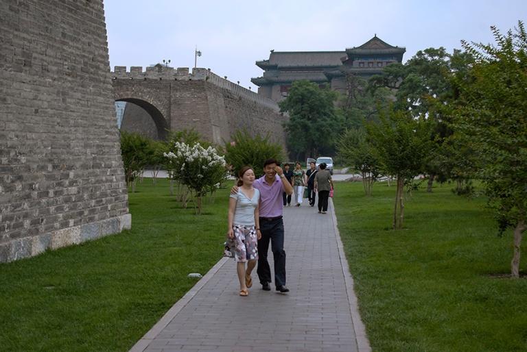 CN_070622 040 Kiina Pekingin Ming-dynastian kaupunginmuurin puis