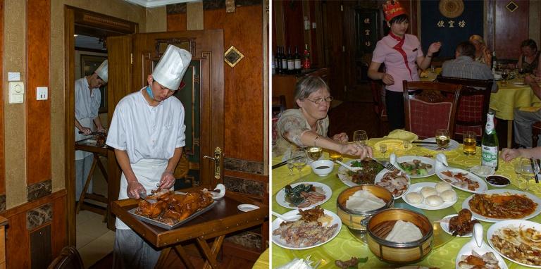 CN_070622 061 Kiina Pekingin ankkaa ravintolassa