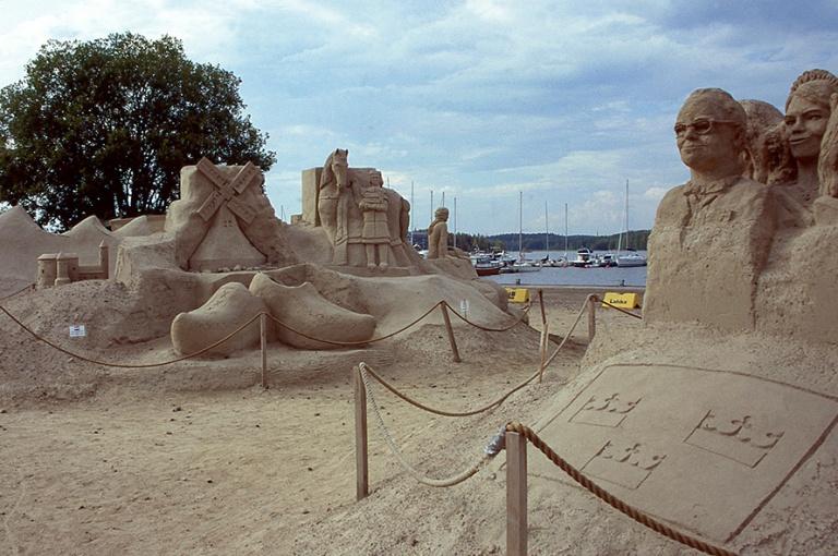 FI622915 Suomi Lappeenrannan hiekkalinna 2006
