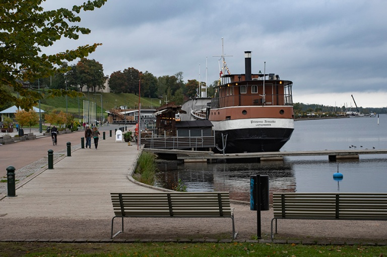 FI_180921 Suomi_0014 Prinsessa Armada Lappeenrannan satamassa