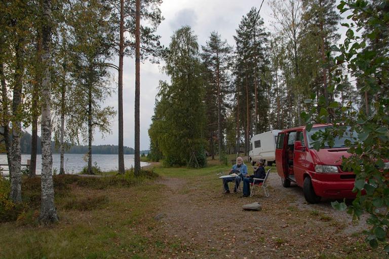 FI_180922 Suomi_0008 Punkaharju Resortin leirintäalue Etelä-Sa