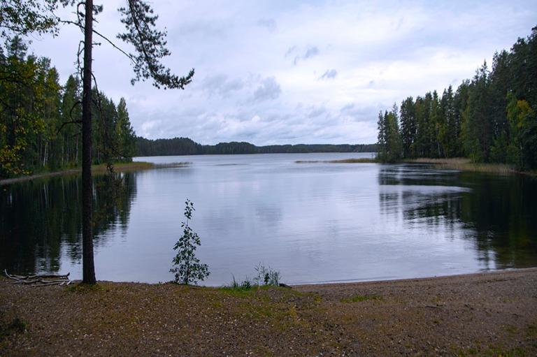 FI_180922 Suomi_0127 Punkaharjun Kuikonlniemen uimaranta Etelä-