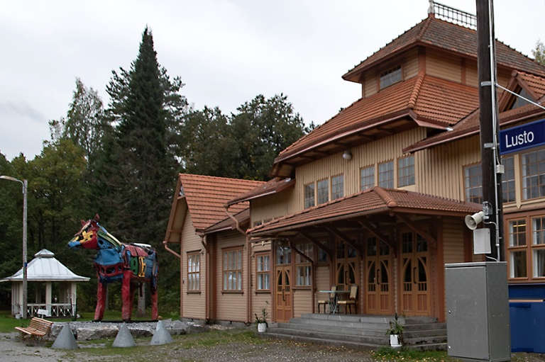 FI_180922 Suomi_0249 Luston Wanha asema Punkaharjulla