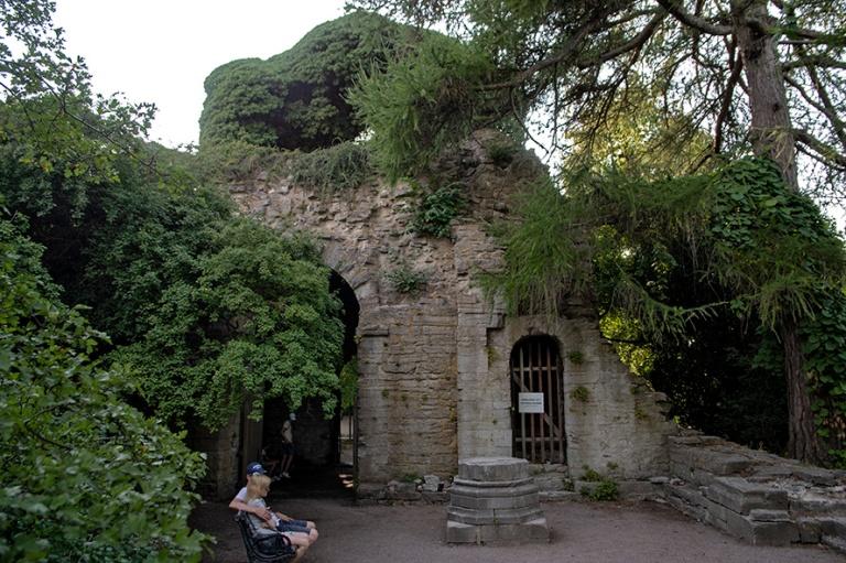 SE_180801 Ruotsi_0334 Visbyn S:t Olofs Basilica Ruins Gotlanniss