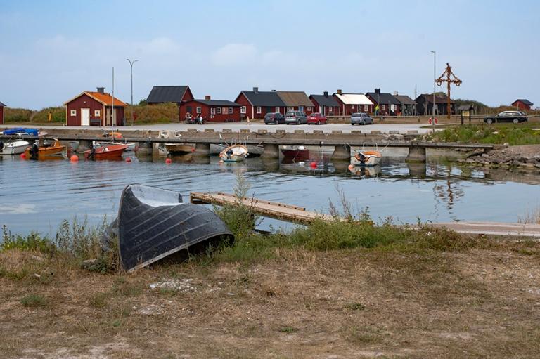 SE_180802 Ruotsi_0076 Gnisvärdin kalastajakylä Gotlannin Tofta