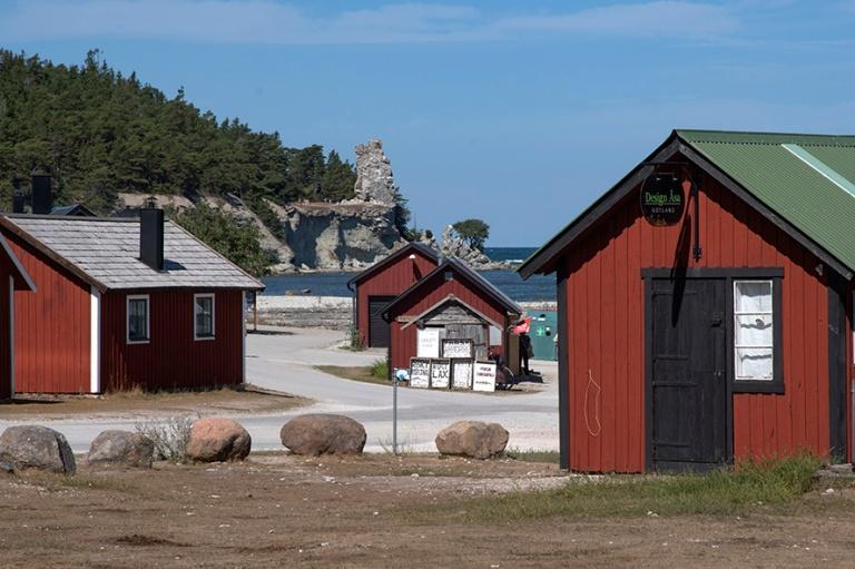 SE_180803 Ruotsi_0054 Lickershamnin kalastajakylä Pohjois-Gotla