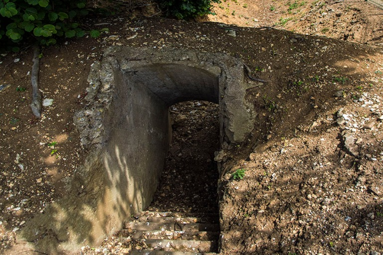 FR_150718 Ranska_0113 I maailmansodan Gibraltar-bunkkerin jään