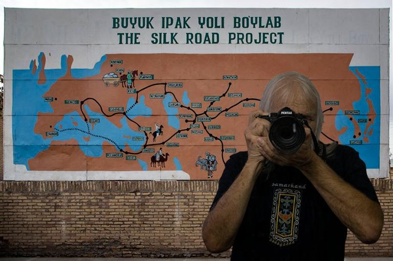 UZ_181024 Uzbekistan_0101 Silkkitien kartta Hivan kaupunginmuurilla+FI_181103 Suomi_0006
