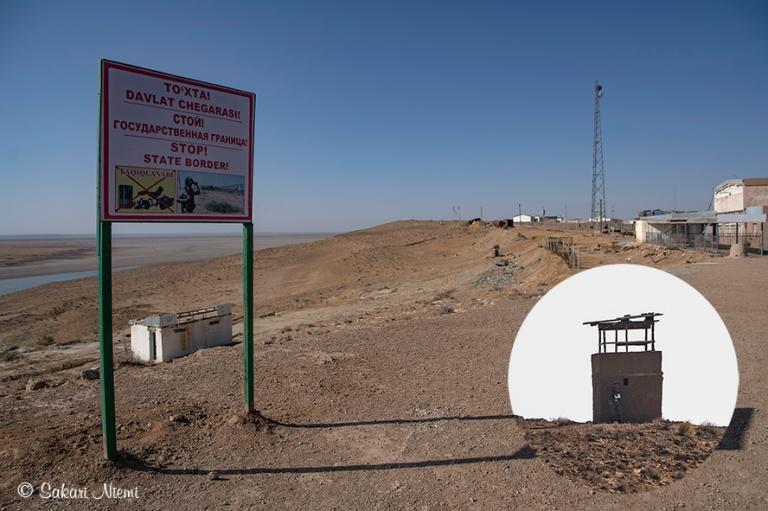 UZ_181025 Uzbekistan_0044 Turkmenistanin vastainen rajavyöhyke