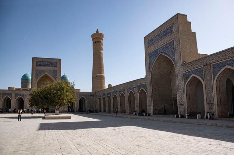 UZ_181026 Uzbekistan_0250 Buharan Kalyan-minareetti ja -moskeija