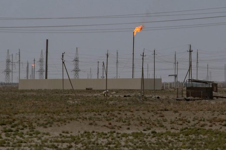 UZ_181027 Uzbekistan_0060 Kosonin kaasukenttä Qashqadaryon alue
