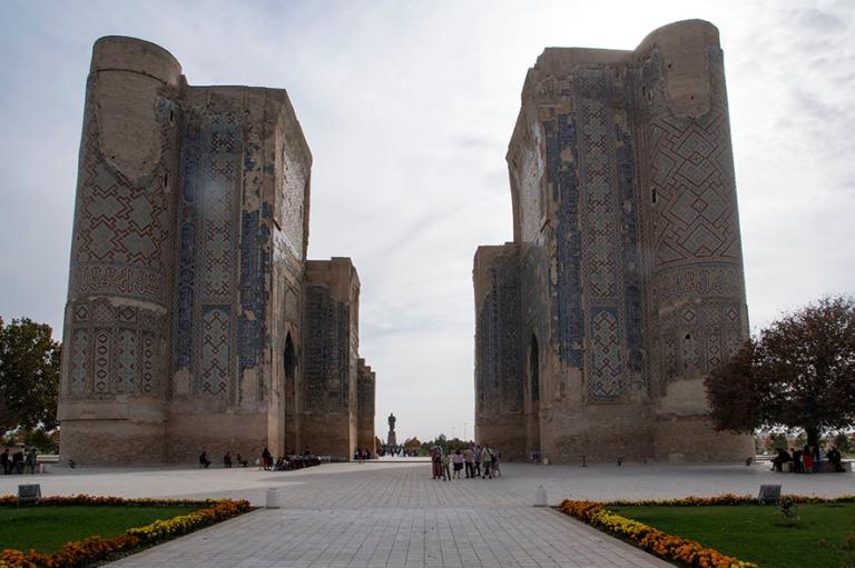 UZ_181027 Uzbekistan_0255 Shakhrisabzin Ak-Saray Palace