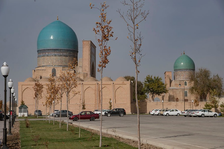 UZ_181027 Uzbekistan_0315 Shakhrisabzin Dor at-Tilyavat Complex