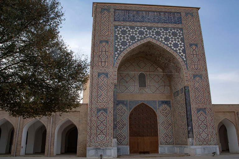 UZ_181027 Uzbekistan_0377 Shahrisabzin Dor-ut Tilovatin Mosque K